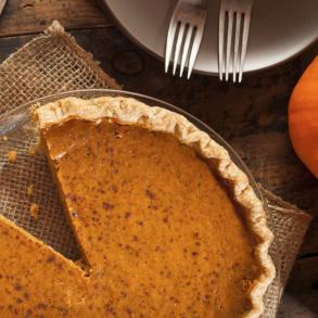 Grain-Free, Dairy-Free Pumpkin Pie