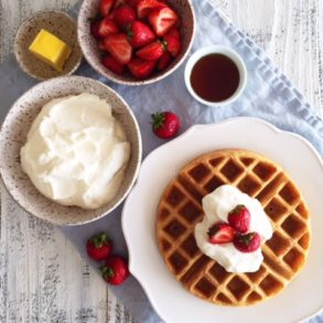Guest Post: Fermented Sourdough Starter and Belgian Waffles Recipe